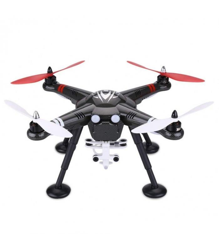 Квадрокоптер XK Innovations Detect X380 RTF GPS + Экшн-камера R-WINGS AIR 4K WiFi - RWC001