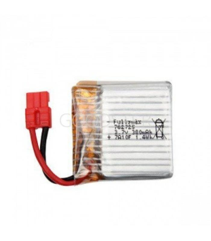 Аккумулятор 3.7V 380мАч 1S LiPo для Syma X21; X26