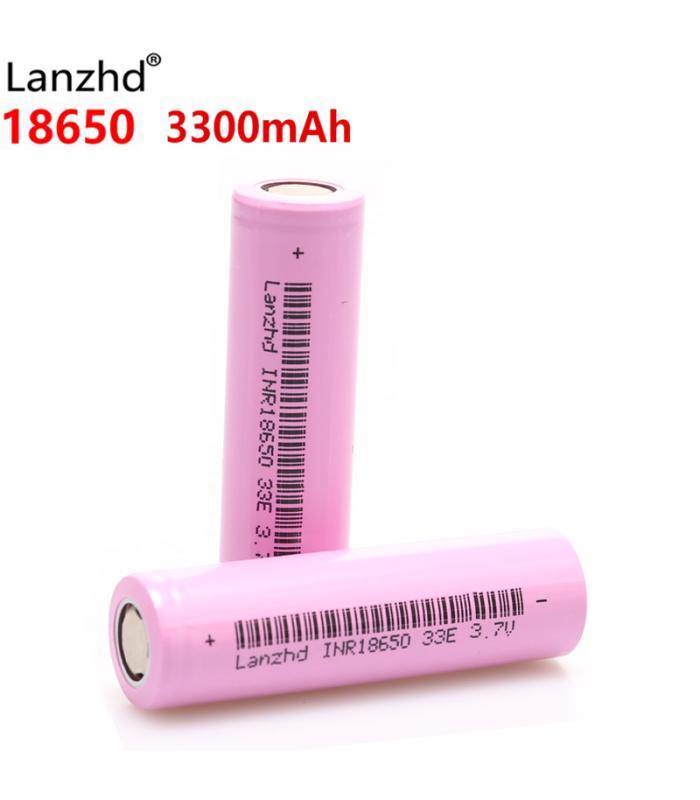 Аккумулятор Lanzhd 3,7 v INR18650 33E, 3300 mAh