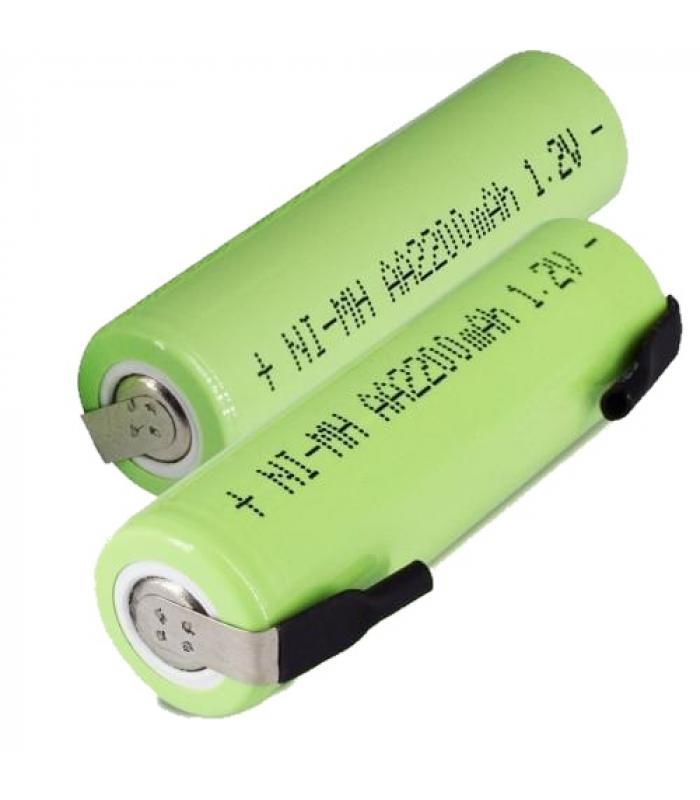 Аккумулятор Ni-Mh 1.2 В AA 2000 мАч с лепестковыми выводами