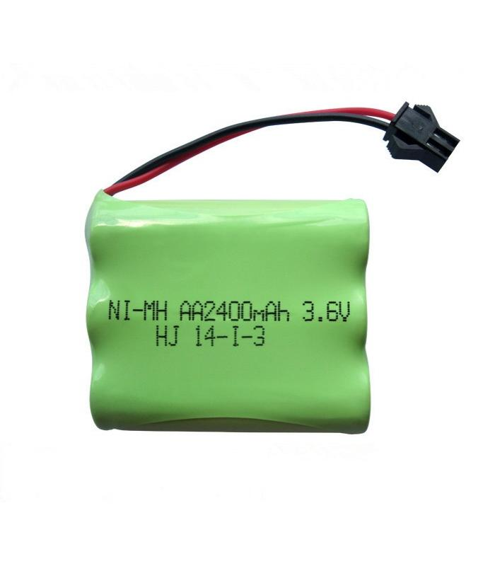 Аккумулятор Ni-Mh 3.6v 2200mah форма Flatpack разъем YP