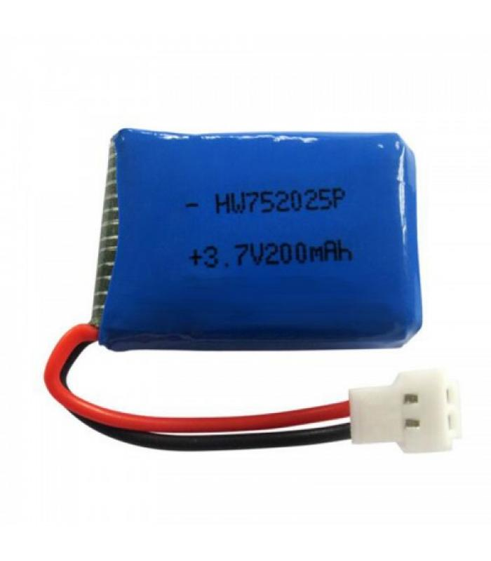 Аккумулятор 3.7 V 200mAh для Syma X11, X13, Х4