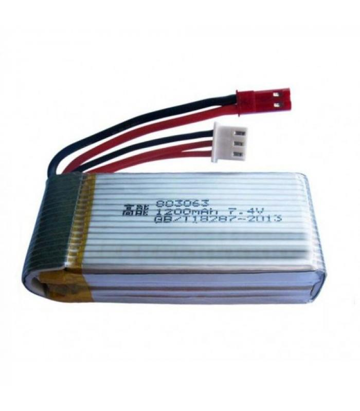 Аккумулятор 7.4V 25C 1200 мАч Li-po