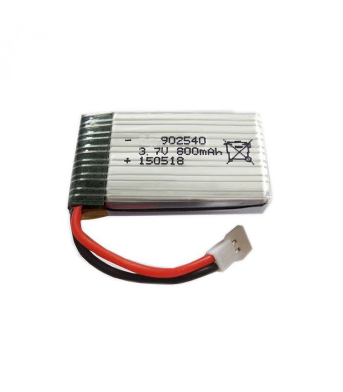 Аккумулятор Li-po 800mAh 3.7V 25C