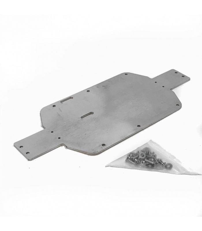 A2501 Алюминиевая нижняя пластина усиления для моделей REMO HOBBY 1/16