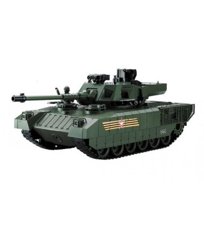 Радиоуправляемый танк RUSSIA T-14 Армата с пневматической пушкой.