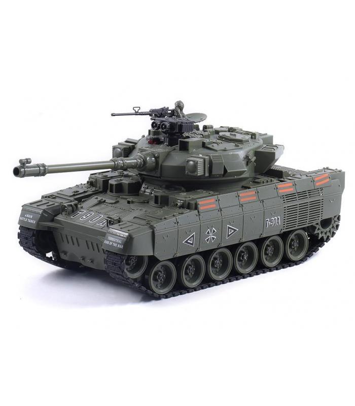 Радиоуправляемый танк RUSSIA T-90А с пневматической пушкой масштаб 1:20
