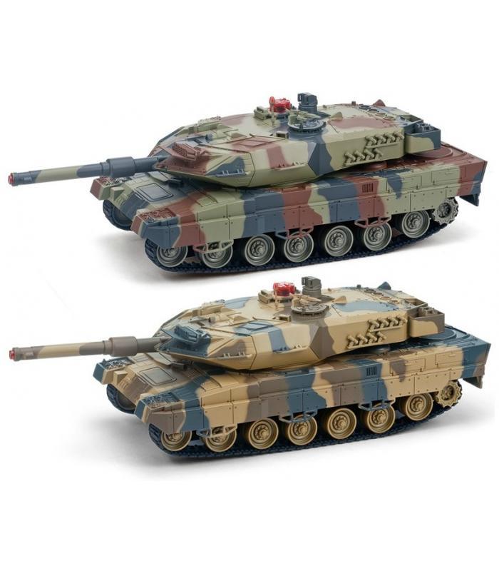 Радиоуправляемый танковый бой до 12 танков Huan Qi 552