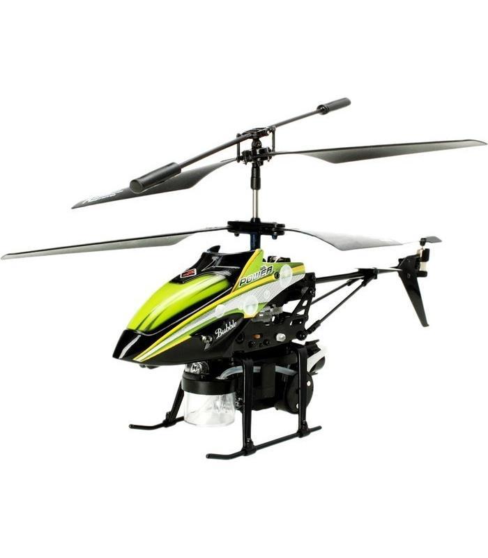 Радиоуправляемый вертолет WLtoys V757 с мыльными пузырями - V757