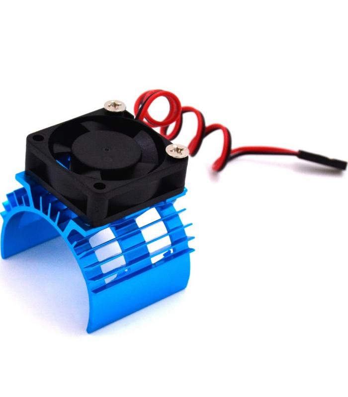 Радиатор охлаждения с вентилятором для мотора 540/550 для моделей 1/10