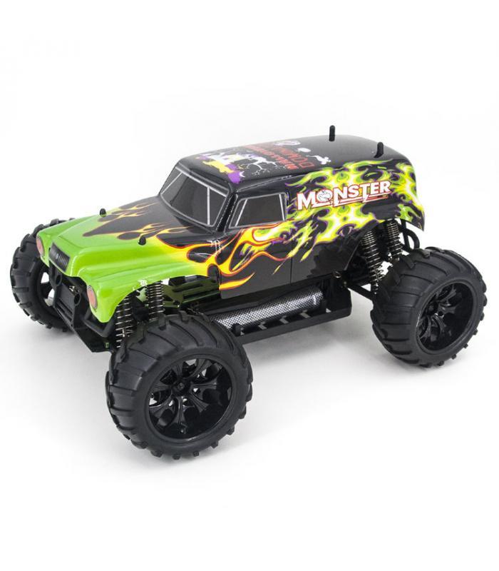 Радиоуправляемый джип HSP Monster H-Dominator 4WD RTR 1:10 2.4G - 94111-STS250A