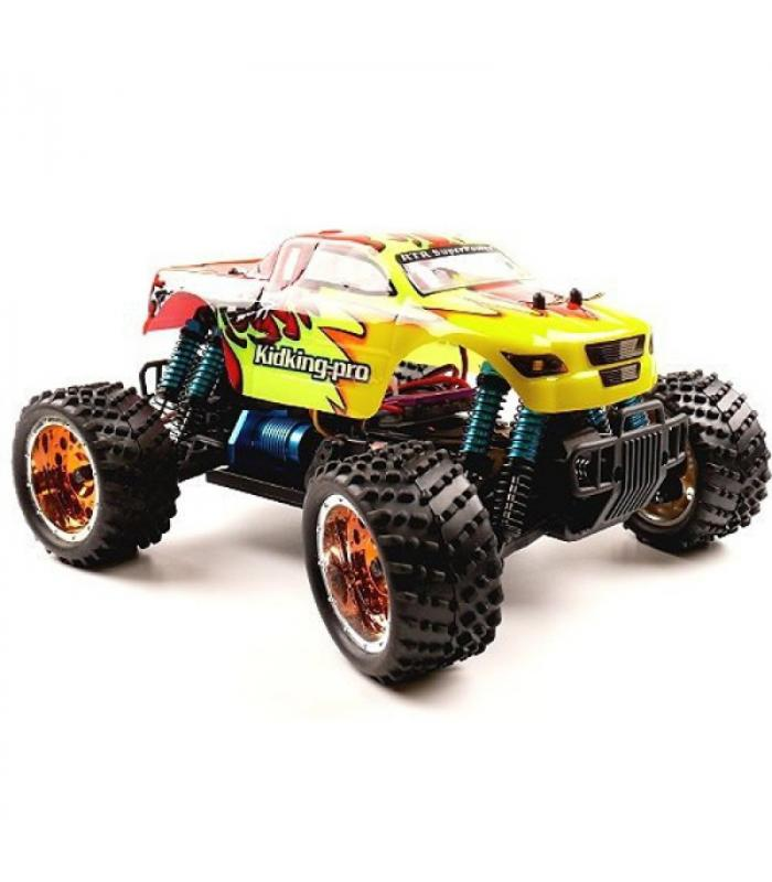 Внедорожник HSP Electric Off-Road KidKing Pro 4WD 1:16 - 94186PRO - 2.4G